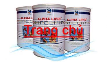 Sữa non apha lipid