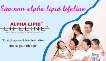 Sữa non alpha lipid cho cả giả đình