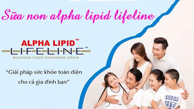 Sữa non alpha lipid cho cả gia đình