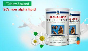 Sữa non alpha lipid từ New Zeland