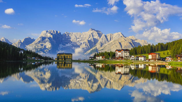 Dãy núi đẹp nhất nước ý