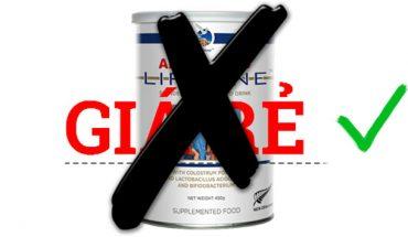 Sữa non alpha lipid giá rẻ