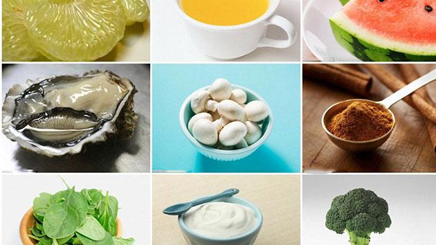 Thực phẩm tốt cho bệnh cảm cúm