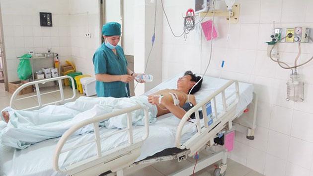 bệnh nhân sau phẫu thuật