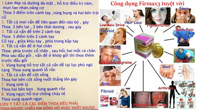 Lợi ích của firmax3
